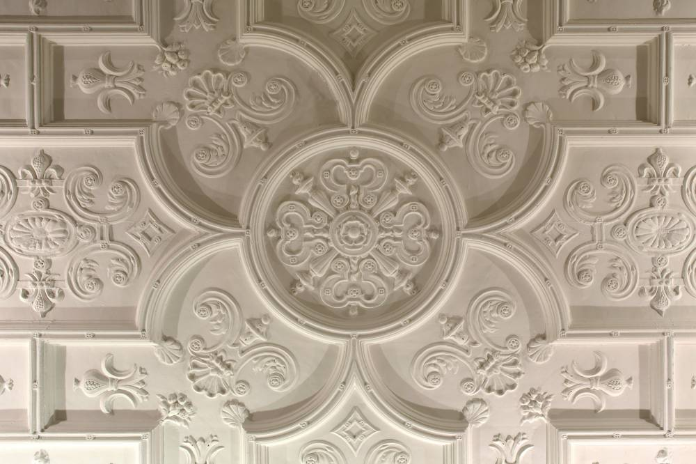 11-13 Hill Street Ceiling Rose