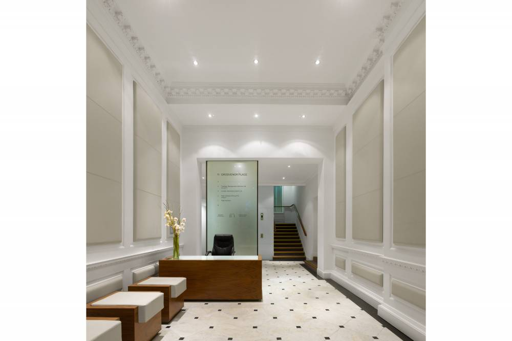 11 Grosvenor Place Reception