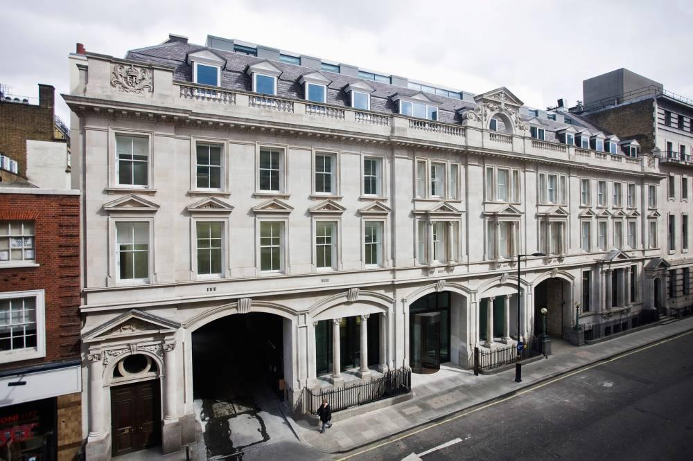 1A Wimpole Street Elevation
