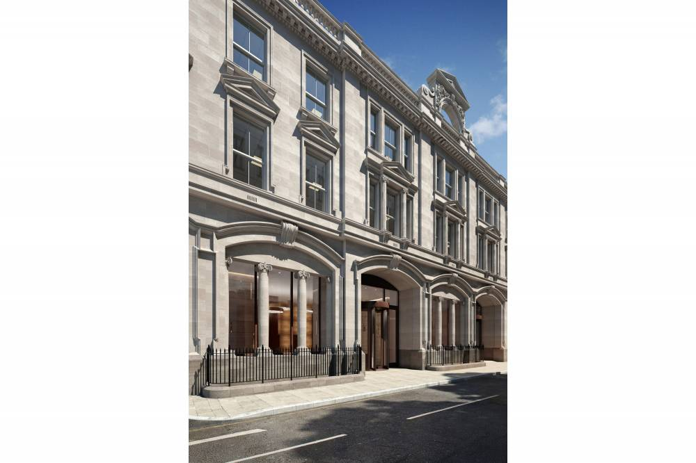1A Wimpole Street Entrance CGI