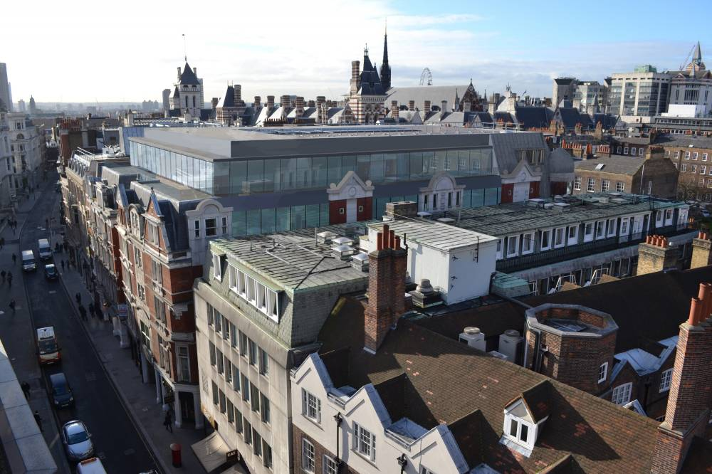 81 Chancery Lane Roof