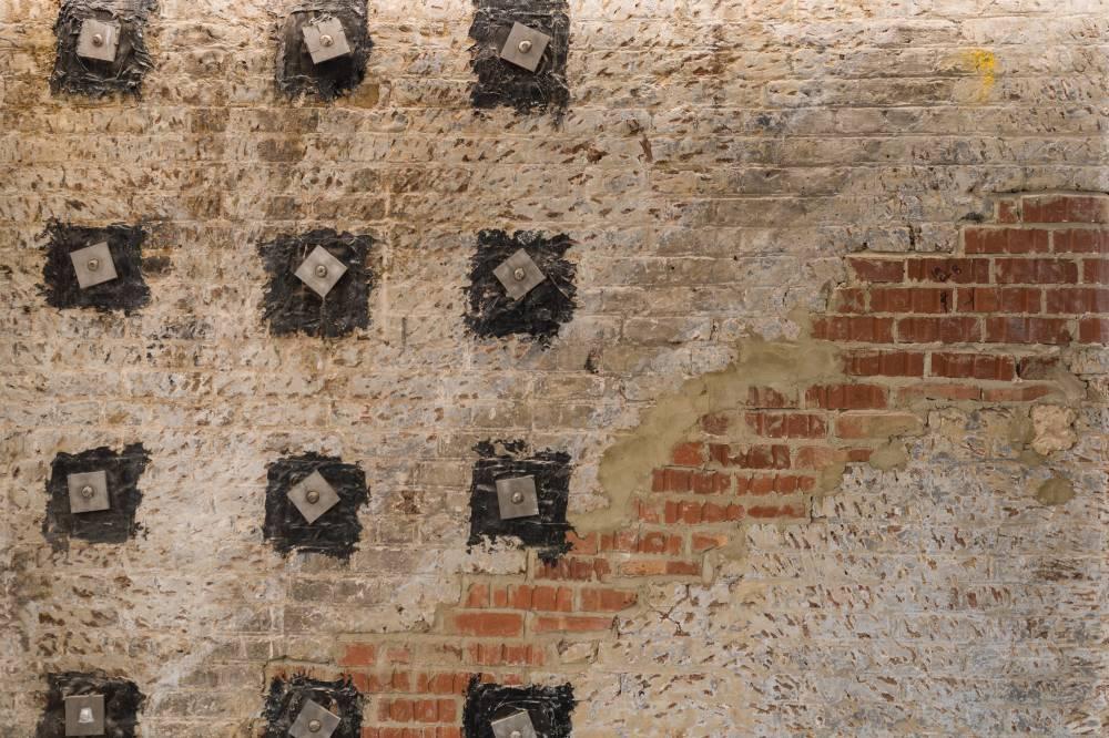 Eastcheap Wall Detail