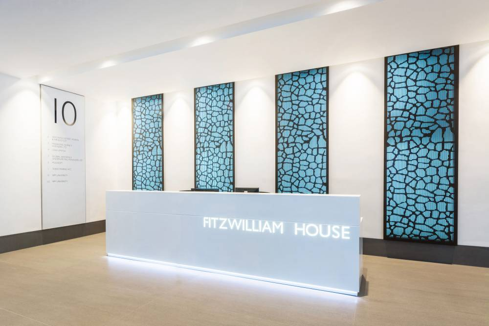 Fitzwilliam House Reception Desk
