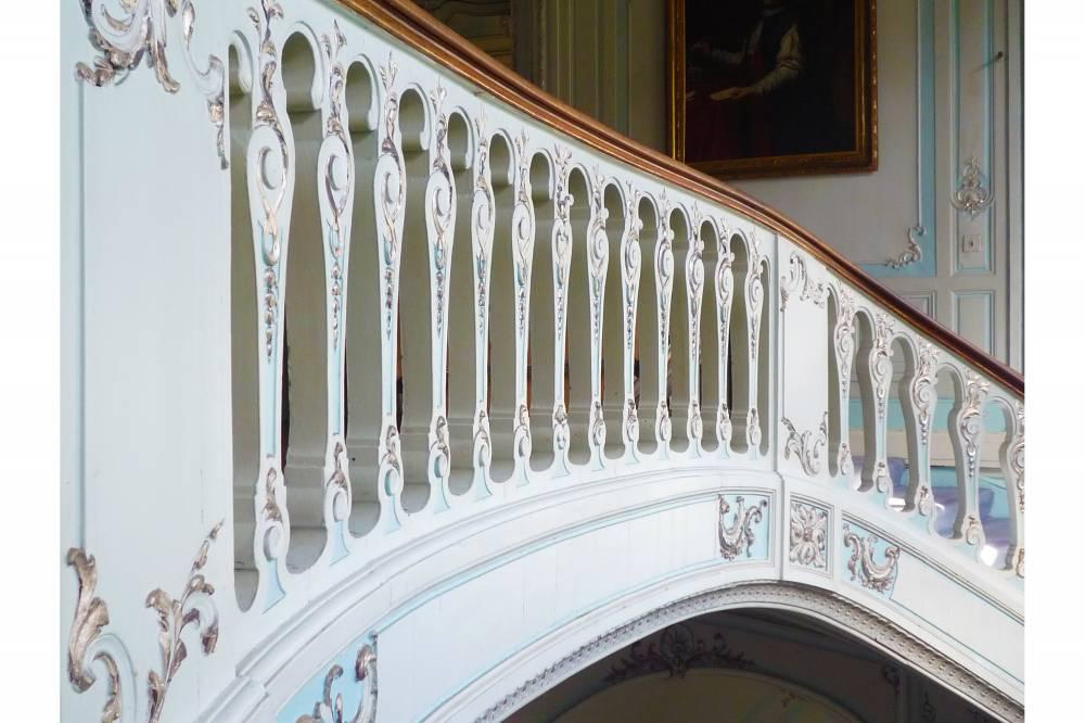 Savile Club Ballroom Stair