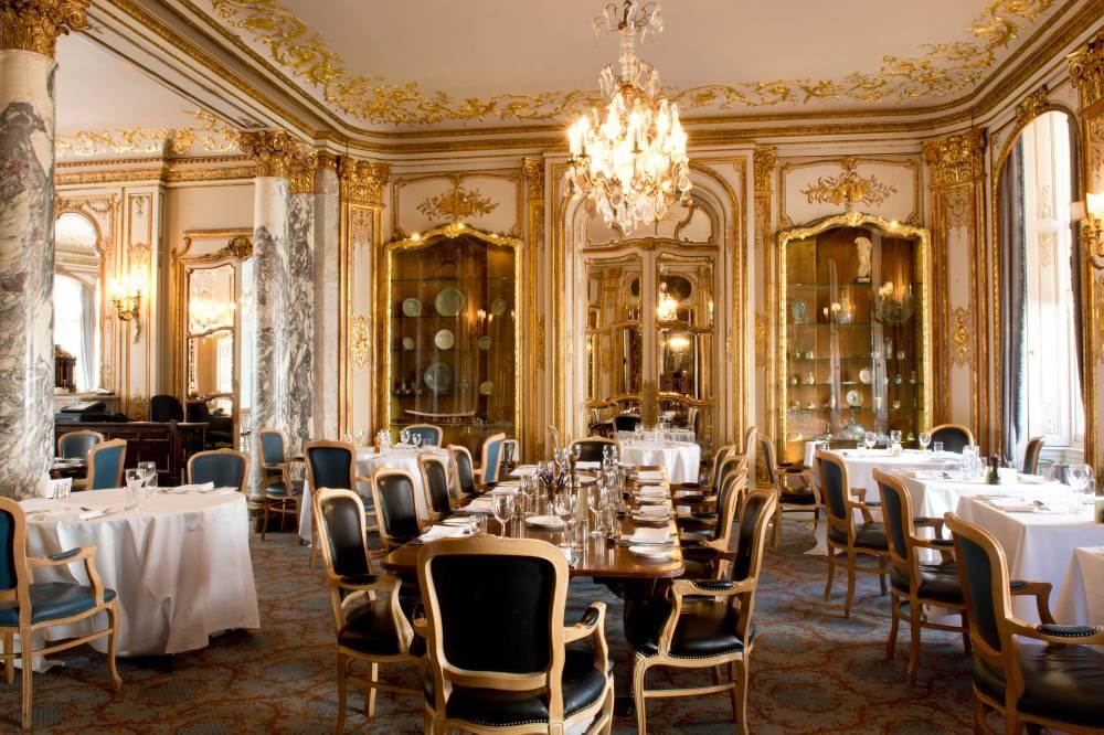 Savile Club Dining Room